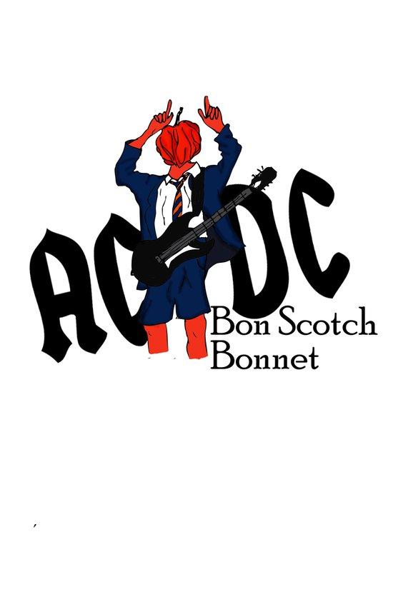 Bon Scot Art Print