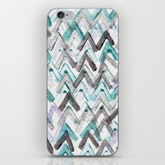 ZigZag Blue iPhone & iPod Skin