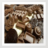 CHOCOLATE,THEOBROMA,CAKE… Art Print