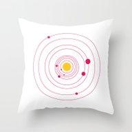 Solar Throw Pillow