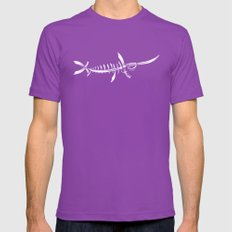 Swordfish Mens Fitted Tee Ultraviolet SMALL