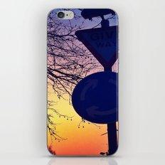 Give Way iPhone & iPod Skin