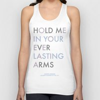 Vampire Weekend - HOLD ME IN YOUR EVERLASTING ARMS Unisex Tank Top