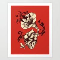 Listen To Your Heart Art Print