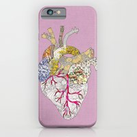iPhone Cases featuring my heart is real by Bianca Green