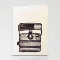 Ballpoint Palaroid Camera Stationery Cards