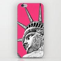 New York Statue Of Liberty iPhone & iPod Skin