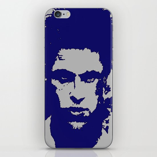 iphone case - blue iPhone & iPod Skin