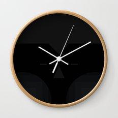 blackie the moon Wall Clock