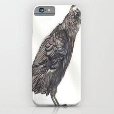 Watercolor Crow iPhone 6 Slim Case