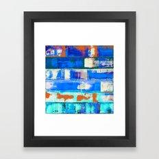 Irradiated (inverted) Framed Art Print