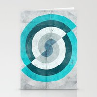 Blue Chaos Stationery Cards