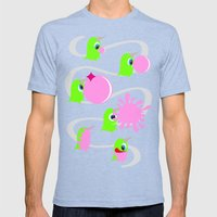 Bubol Bubble Gum Mens Fitted Tee Tri-Blue SMALL
