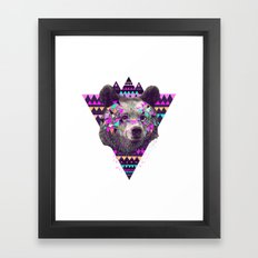 Piñata BEAR  Framed Art Print