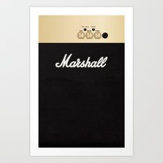 Marshall for iPhone 5 Art Print
