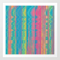 Crazy Colors.  Art Print