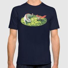 Duel Mens Fitted Tee Navy SMALL