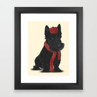 Scottie Framed Art Print