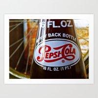 Pepsi Nostalgia Art Print