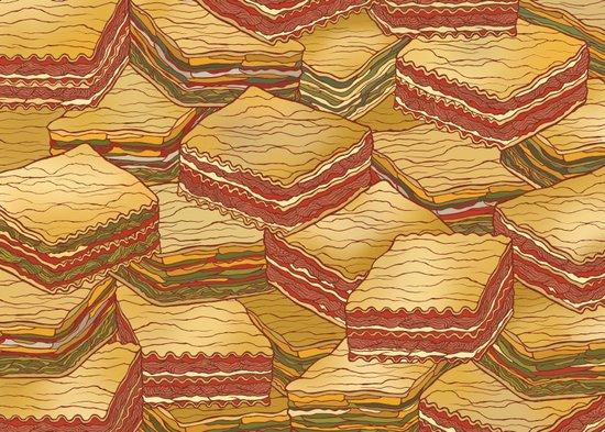 Lasagne Art Print