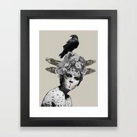 Shush  Framed Art Print