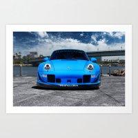 Porsche 993 Art Print