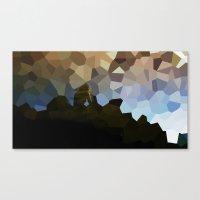 The polygon solitude  Canvas Print