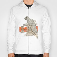 Godzilla vs. the Brooklyn Bridge Hoody