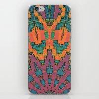 Sunset Mandala No. 1 iPhone & iPod Skin