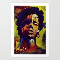 Portrait * Darren Le Gallo Art Print