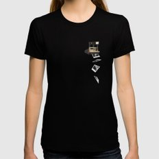 Polaroid Sun 600 Womens Fitted Tee Black SMALL
