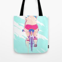 Ride In The Fog Tote Bag