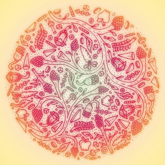 Fruitful Thoughts. Art Print