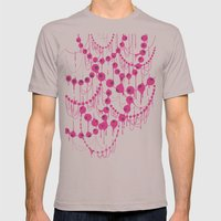 Pearl Necklace Mens Fitted Tee Cinder SMALL