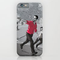 iPhone & iPod Case featuring The Walking Dead by Steven P Hughes