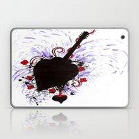 Bleeding Black Heart Gui… Laptop & iPad Skin