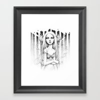 Faun V2.0 Framed Art Print