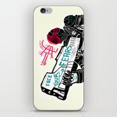 Face your Fears iPhone & iPod Skin