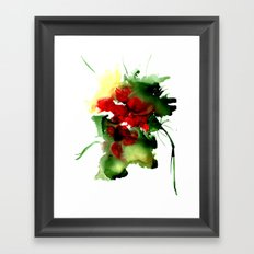 Fantasy Abstract Flower.… Framed Art Print
