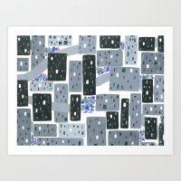 Occupy Movement Granules… Art Print
