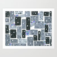 Occupy Movement Granules, Forgotten City, Metro Population < 500,000 Art Print