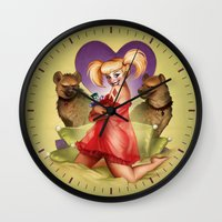 Don'tcha Wanna Rev Up Your Harley? Wall Clock