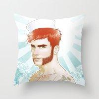 Welcum! Throw Pillow