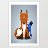 Hungry & Foolish Art Print