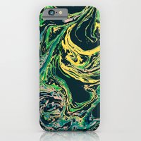 iPhone & iPod Case featuring Swirling World V.1 by The Omnivore