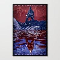 Sympathy for Mr. Vengeance [full color] Canvas Print