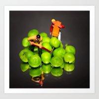 The Pea Farmers Art Print