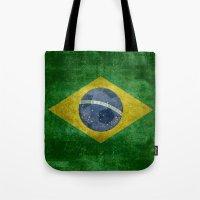 Vintage Brazilian Nation… Tote Bag