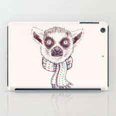 Lemur and scarf  iPad Case