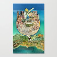 World In Harmony Canvas Print